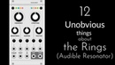 12 Unobvious things about the Mutable Instruments Rings in the VCV Rack