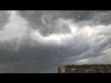Тучи в Самаре. Порывы ветра.