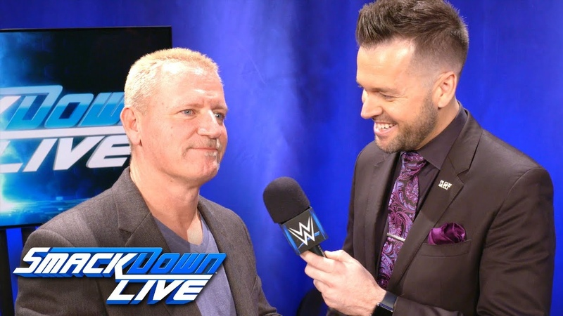 What is Jeff Jarrett looking forward to at WWE TLC SmackDown Exclusive, Dec. 11, 2018