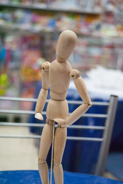 Индустар-50-2, кукла-манекен