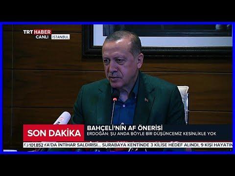 Cumhurbaşkanı Erdoğanın İngiltere Ziyareti Öncesi Açıklamaları 13 Mayıs 2018