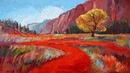 Красочные пейзажи художницы Эрин Хансон Erin Hanson