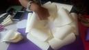 Como realizar una flor jumbo de papel manualidades de vero