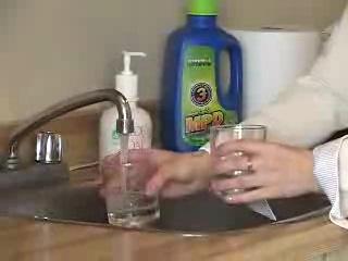 Польза от Алоэ Вера. Чистота воды которую Вы пьете(эксперемент)