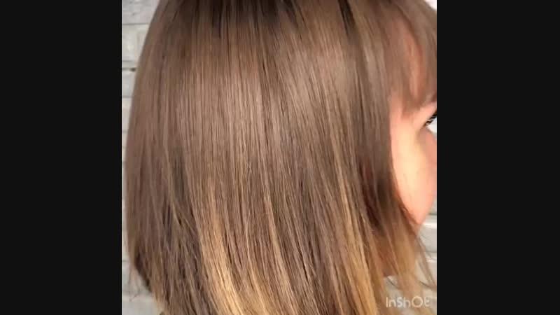 Окрашивание волос на бренде Farmavita