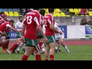 ENC 2014 Russia - Portugal Highlights Rugby World Cup 2015 Qualification