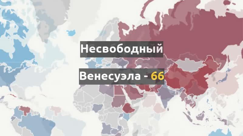 Свобода интернета в мире