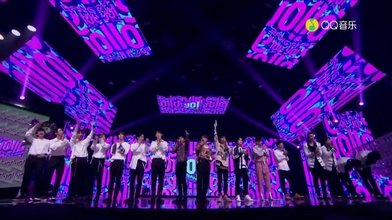 141018 ONER @ YO!Bang show ending