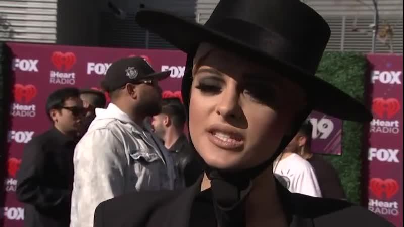 Bebe Rexha gave an interview for Associated Press