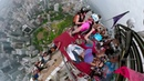 GoPro BASE Jumping the Worlds 7th Tallest Tower with Marshall Miller · coub, коуб