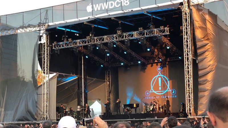 WWDC18 Bash Panic at the disco High Hopes