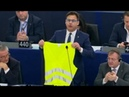 Wacht auf! – Streit über Straßburg-Terror: Abgeordneter verlässt mit gelber Weste EU-Parlament