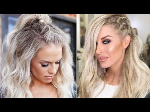 Stylish Half Up Half Down Hairstyle Ideas