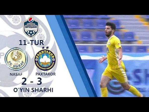 11.05.2018. Nasaf - Paxtakor - 2:3 [HD] | O'yin sharhi (Superliga, 11-tur)