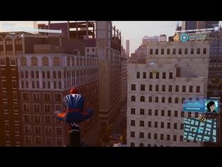 Человек-Паук на PS4 - Геймплей