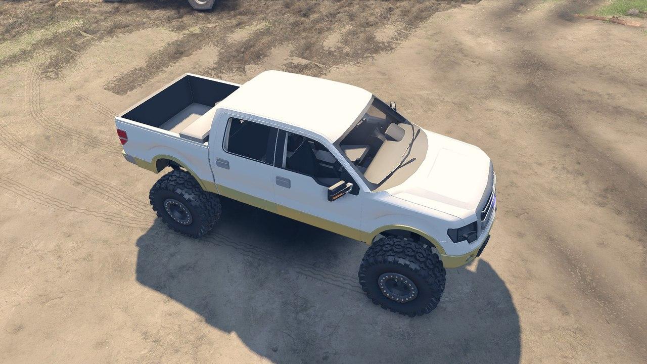 Ford F150 1.1 для Spintires - Скриншот 2