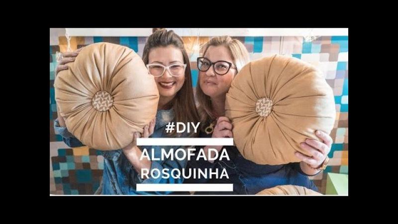 Aprenda fazer Almofada Rosquinha com tecido e frasco de máscara capilar | DIY Nosso de Cada Dia