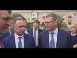 Виталий Мутко на осмотре сквера Авиаторов в Старом Кировске