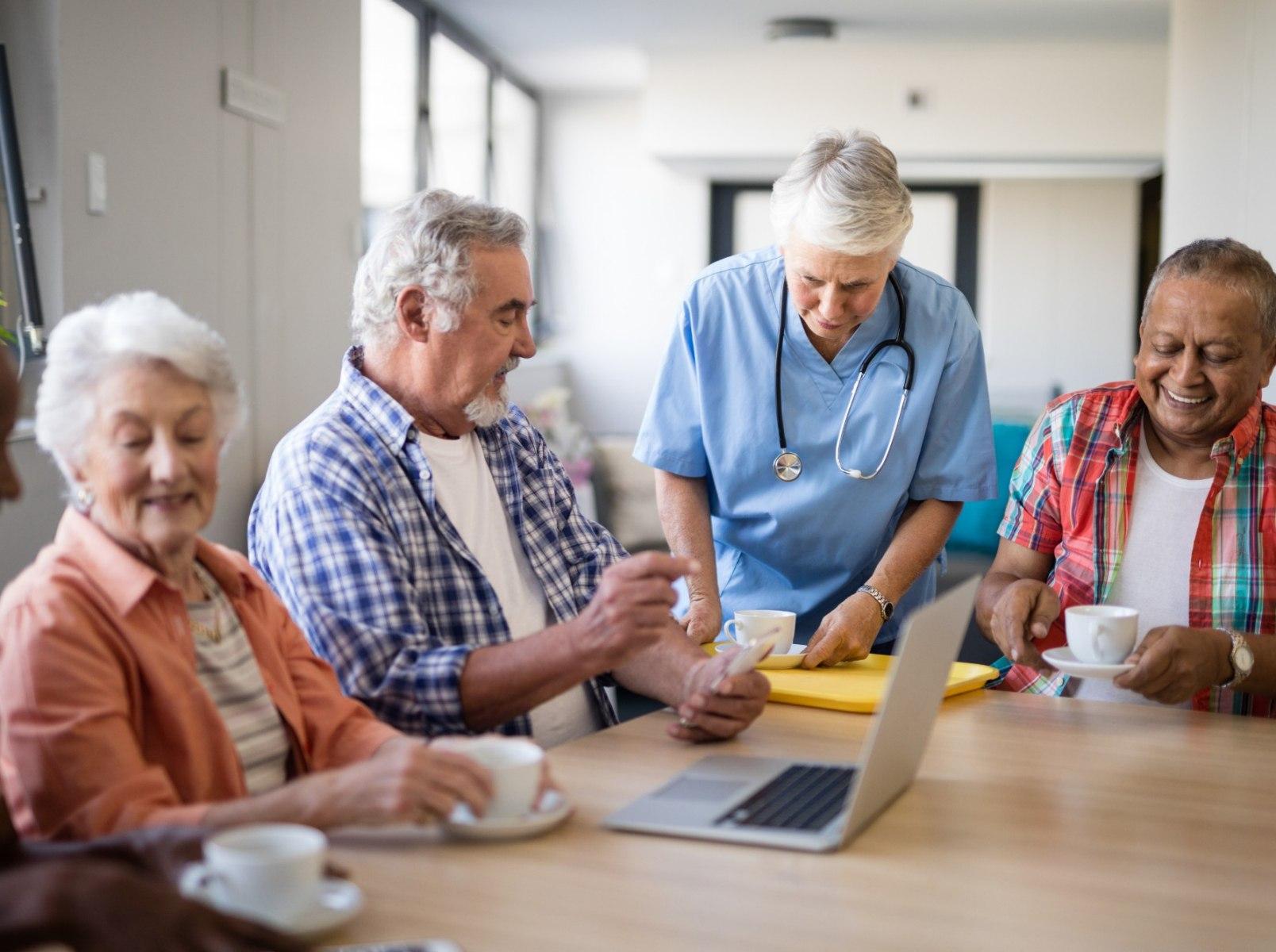 Что такое дом престарелых?