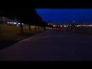 ночной заезд по набережной