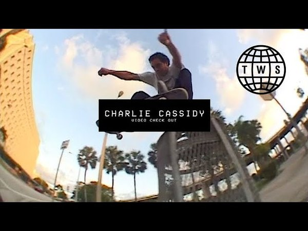 Video Check Out: Charlie Cassidy   TransWorld SKATEboarding
