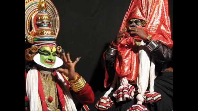 Kathakali - Nakrathundi and Jayantha, India
