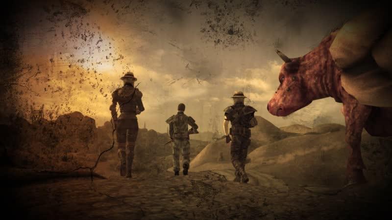 Красный Караван Рассказчик История Мира Fallout