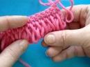 Уроки вязания Crochet and knitting. Вытянутые петли (Букле) вязание крючком...Видео:  1.Вязание