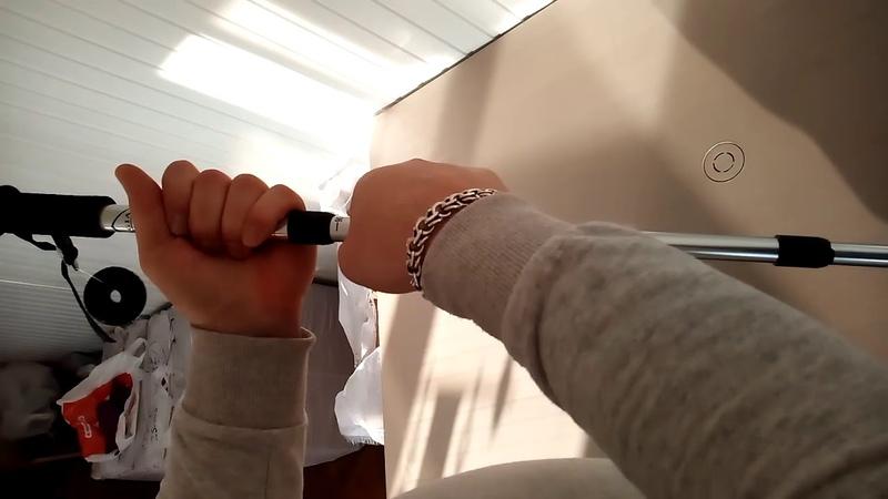 Трекинговая трость (палка). Краткая инструкция по разборке/сборке.
