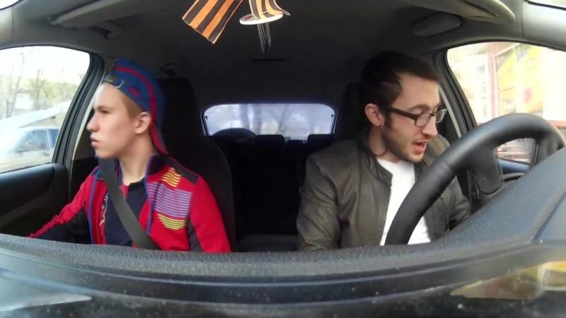 Таксист убийца ⁄ The taxi driver killer ¦ Пассажир держался до последнего - Prank