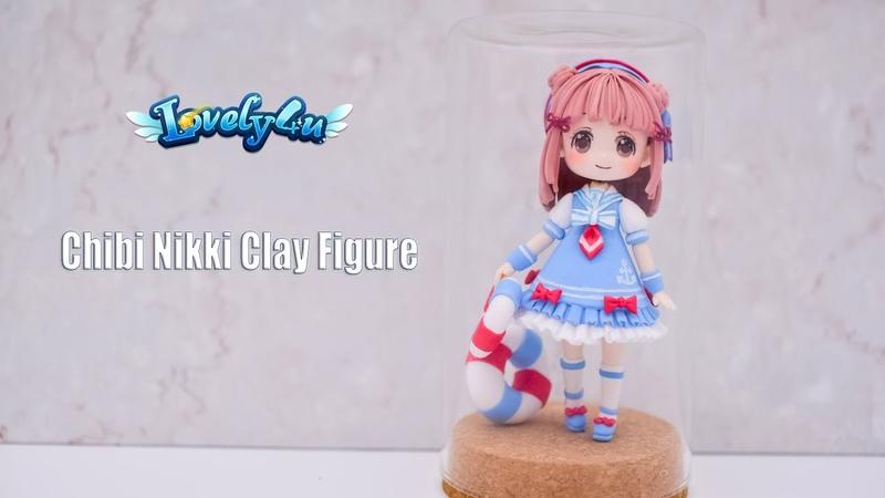 81】Nikki Dress up【Clay Tutorial/ Anime Figure/ DIY/Lovely4u】