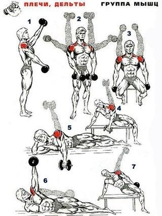 19 способов прокачать плечи!
