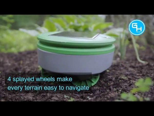 Tertill - The weeding Robot from Franklin