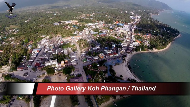 Photo Gallery Koh Phangan Thailand overflown with my drone