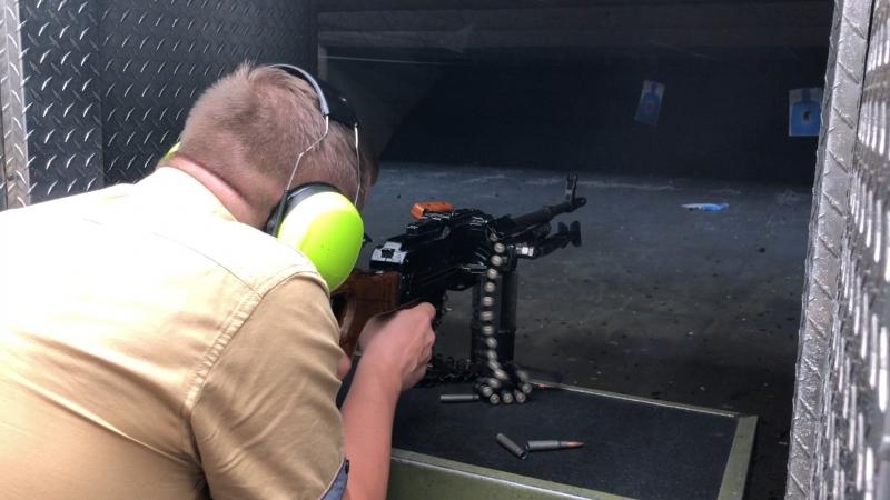 Пулемёт ПКМ Battlefield Vegas 28 08 2018