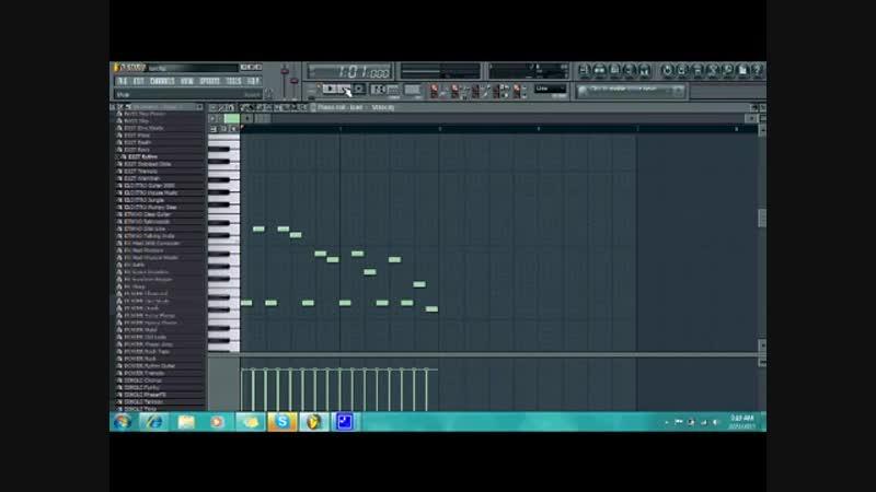 Fl studio 9 metalcore tutorial 2! 1_2