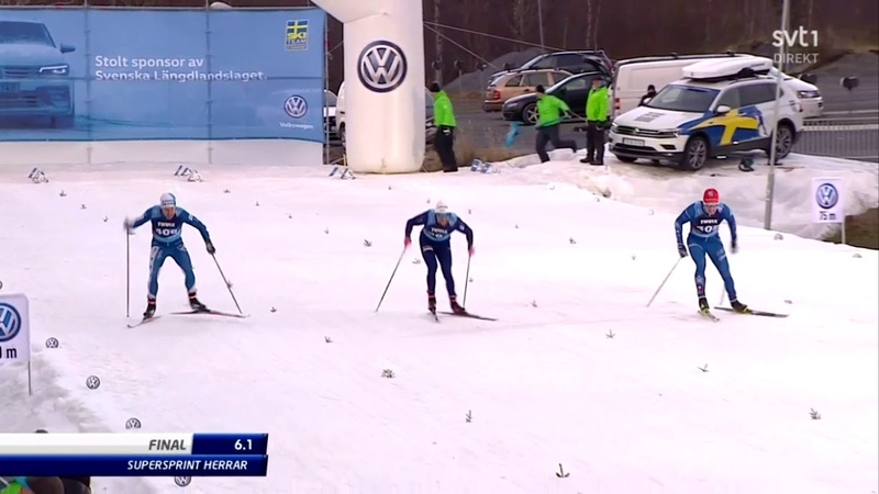 Men's 100m final from Östersund - Ludvig Sognen Jensen AKA Luddeyo won with a strained pec muscle