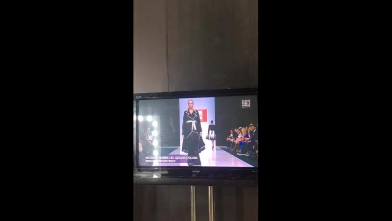 Неделя моды в Моске. Коллекция George Black Мир полутеней, первые видео бэка