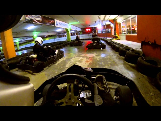 Картинг Санкт-Петербург Картинг Центр 26.10.2013 Скала и катиться гонки on board