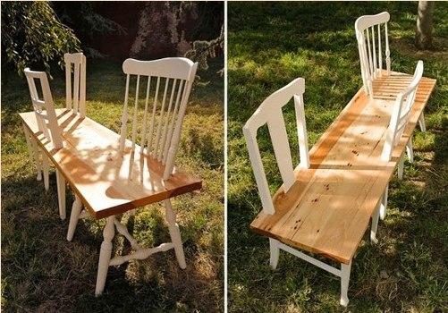 Что можно сделать из старых стульев.