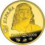 Удивительные и дорогие монеты евро, монеты, нумизматика, 100 лет со дня рождения Сальвадора Дали