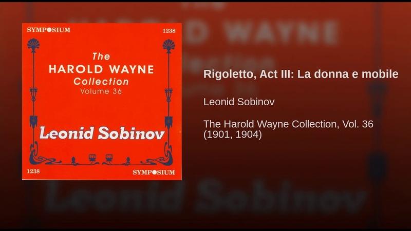 Rigoletto, Act III: La donna e mobile
