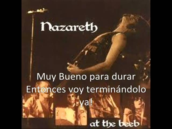 Nazareth - Too Bad Too Sad (Subtitulos)