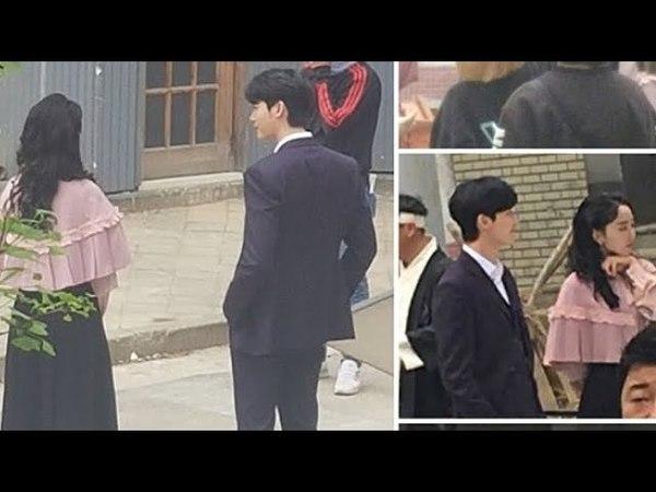 Hymn Of Death ~ Lee Jong Suk and Shin Hye Sun making film Part 2