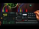ELEKTRON DIGITAKT ¥ ELEKTRON ANALOG FOUR … deep techno house jam