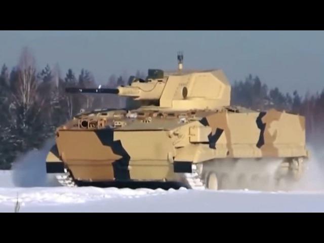 Rusia Blindado Armado con CAÑON 57-mm AU-220M Baikal Ejército Ruso