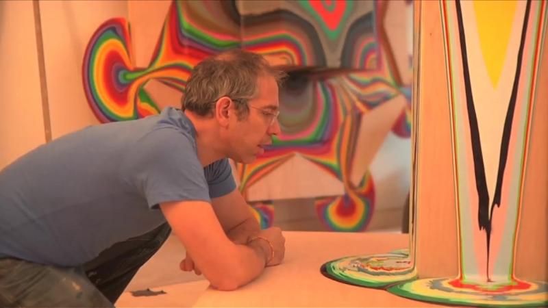 Dave Kaufman Holton Rower Tall Painting Идеальный ремонт
