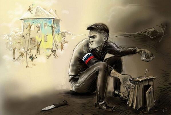 9 мая террористы обстреливали из 120-мм минометов, крупнокалиберных пулеметов и гранатометов несколько населенных пунктов, - пресс-центр АТО - Цензор.НЕТ 4990