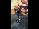 Становая тяга 130 кг(личный рекорд)