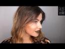 Металлик на губах Ведущий визажист FACE nicobaggio professional make up Ксения Мельницкая